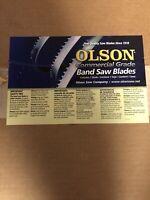 "Olson Saw Blade: FB28123DB 123"" X 1"""