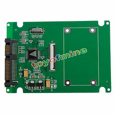 "1.8"" ZIF CE HDD Hard Drive Disk to 7+15 22 Pin SATA Adapter Converter Card"
