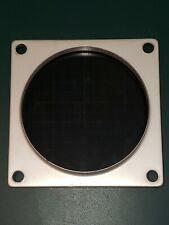 60s Tektronix Type 502 Dual Beam Oscilloscope Screen Glass Bezel Vintage Parts