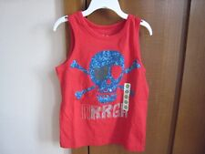 PEANUT & OLLIE BOY'S RACING RED TANK~~SIZE 5T~~NEW WITH TAGS WITH FREE SHIPPING~