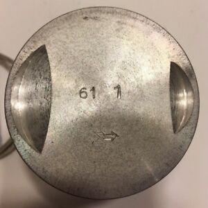 Piston, Asso, 61.1mm, 3+1-ring type, NOS