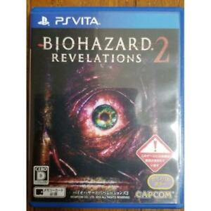 PS Vita BIOHAZARD REVELATIONS 2 Capcom Sony PlayStation Vita JAPAN