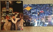 WWF WWE Posters Lot Of 2 Shawn Michaels Ric Flair Wrestlemania Wrestling