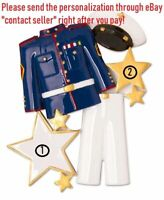 US MILITARY ARMED SERVICES AIR FORCE SOLDIER PERSONALIZED CHRISTMAS ORNAMENT