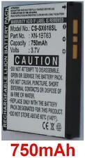 Batterie 750mAh type XN-1BT63 Pour Sharp SH-6110
