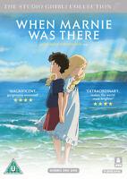 When Marnie Was There DVD (2016) Hiromasa Yonebayashi cert U 2 discs ***NEW***