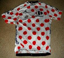 Tour de France 2014 Polka Dot Points Replica cycling jersey : X Large
