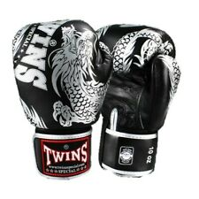 Twins Special Fancy Boxing Gloves FBGV-49 10 oz Silver/Black