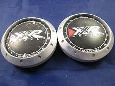 XXR  BLACK METAL USED!!!  CUSTOM WHEEL CENTER CAPS*   2 INCH    (FOR 2 CAPS)