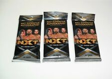 Topps 2017 Wwe Nxt Trading Cards Fat Pack Lot Of 3 Random Sealed Packs