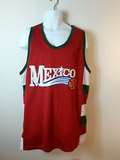Celebrity By Design Mexico Basket Ball Jersey Size Large
