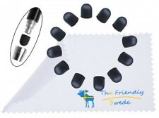 "1 Dozen Soft Replacement Tips for The Friendly Swede 5.5"" High Precision Stylus"
