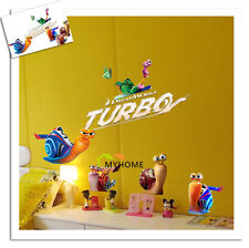 NEW TURBO DREAMWORKS WALL  STICKER NURSERY/KIDS/GIRLS/BOYS ROOM
