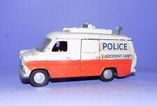 * VINTAGE  *  1967 -1974  *  DINKY TOYS  *  NO 287  *  POLICE FORD TRANSIT  *