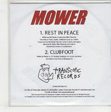 (GQ491) Mower, Rest In Peace / Clubfoot - 2002 DJ CD