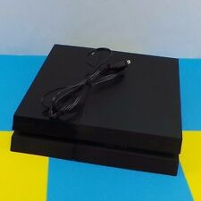 Sony PS4 Playstation 4 Black Video Game Console 500GB (READ) Used #00Seal
