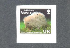 Guernsey-Blonde Hedgehog mnh single-Mammals