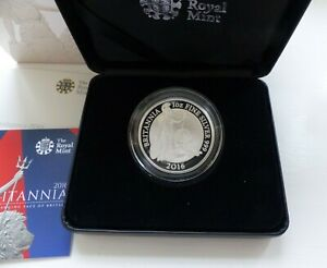 2016 SILVER PROOF BRITANNIA £2 BOXED & CERT LAST ONE, outer box 2015 mixed up