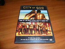 City of God (DVD, Widescreen 2004) Leandro Firmino da Hora,  Used