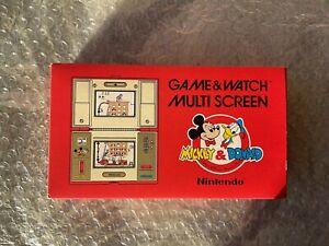 Nintendo Game&Watch Mickey&Donald