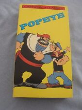 POPEYE CARTOON CLASSICS, SINBAD THE SAILOR & ANCIENT FISTORY, VHS TAPE