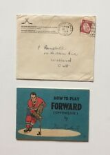 1966 Coca-cola Hockey Tips Booklet - Henri Richard + Original Envelope