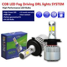 H4 9003 White COB 16000LM LED Light Bulbs fog driving daytime running light Lamp