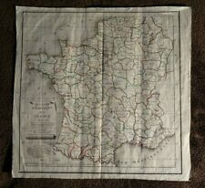 """Carte ancienne France début XIX """"Division Géométrique"""" Départements vers 1810"""