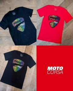 Ducati Pride Crew and V-Neck T-Shirts sz SM to 2XL