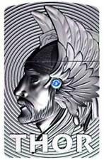Zippo ® THOR 3D EMBLEM LIMITED EDITION with blue Swarowski ELEMENT Neu / New OVP