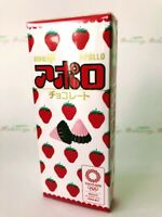 "Meiji, ""APOLLO"",Strawberry chocolate, 46g in 1 box, Japan Candy"
