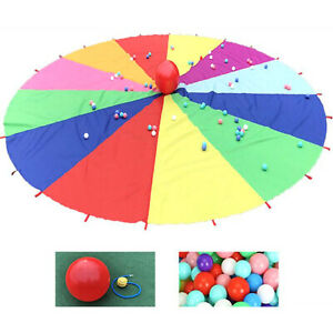 Collapsible And Easy To Store Kids Parachute Toy Boy Toddlers Outdoor Parachute