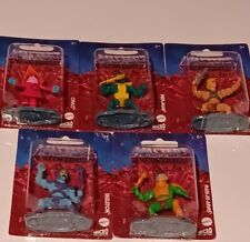 Masters of the Universe Micro Collection 5 Figure Lot Skeletor He-Man Orko New