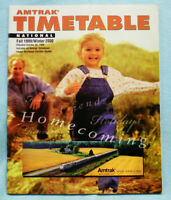 Amtrak National Timetable - Fall 1999 / Winter 2000