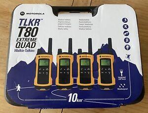 Motorola TLKR T80 Extreme Quad Walkie-Talkies