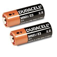 2 x Batterie 12V A23 23A LR23A MN21 V23GA DURACELL Frisch Neu