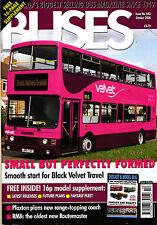 BUSES 643 OCT 2008 London,Black Velvet,Dennis Falcon,Routemaster,Model Bus,News