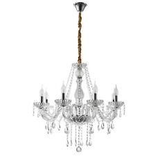 New ListingModern Sliver Crystal Chandelier 8-Light Ceiling Pendant Lamp Lighting Fixture