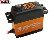 Savox SB-2230SG Monster Torque sin escobillas de alto Acero Gear Servo Digital SAV -