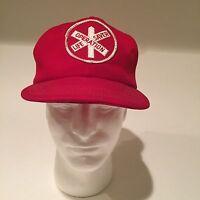 Union Pacific Railroad Operation Lifesaver Baseball Hat Cap Vintage Rare Fast
