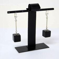 Paar kleine, schwarze KubenOhrringe /Earrings Bakelit 30er Jahre  ART DECO