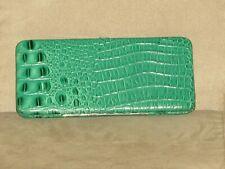 Vibrant Green Snakeskin Design Wallet
