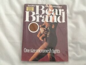 Bear Brand one size micromesh vintage tights