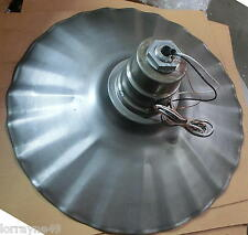"Radial Wave 20"" Industrial Lighting Fixture Rust Unfinish"