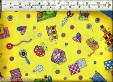 QT ~ KPearson ~ Sewing Notions Quilting Supplies ~ 100% Cotton Quilt Fabric BTY