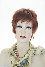 Fun, Short, Razor Cut, Layered, Straight, Carefree Pixie cut Wigs in 10 Colors