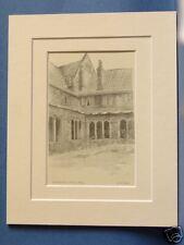 NORFOLK NORWICH ST. HELEN'S HOSPITAL VINTAGE MOUNTED