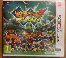 INAZUMA ELEVEN 3 : FOUDRE CELESTE pour Nintendo 3DS ** NEUF **