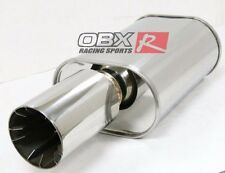 OBX/Forza Universal Muffler May fit: Civic Integra Subaru Mitsubishi HR10-3.0