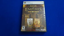 Age of Empires 3 III PC Game Gold Edition Base & The War Chiefs